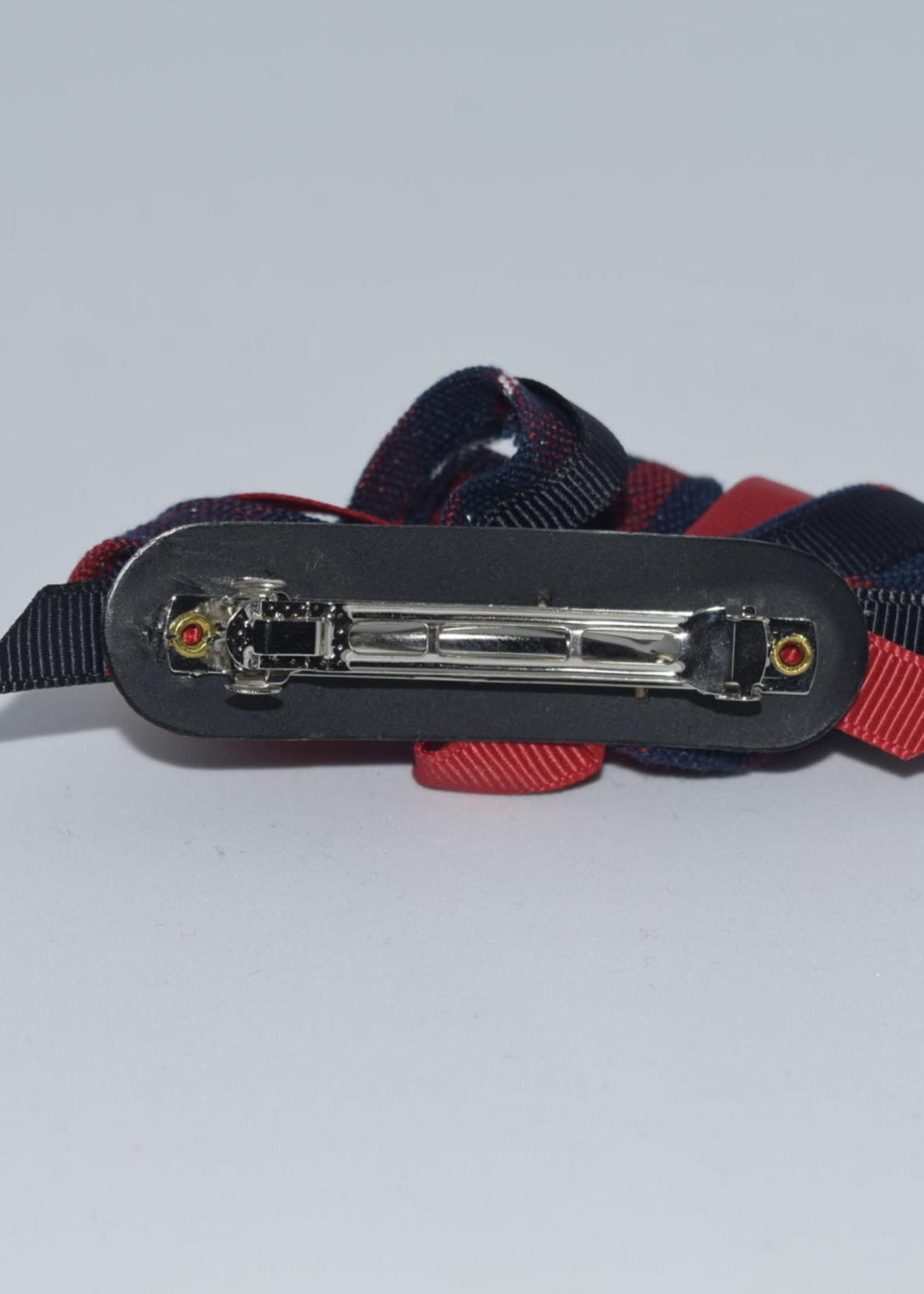 Mini Ribbon Burst Barrette P36