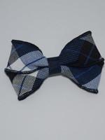 Small basic plaid bow P578