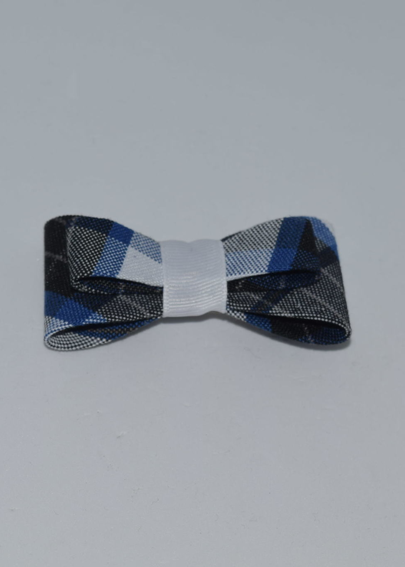 Double Tailored Ponytail Bow P578 WHI