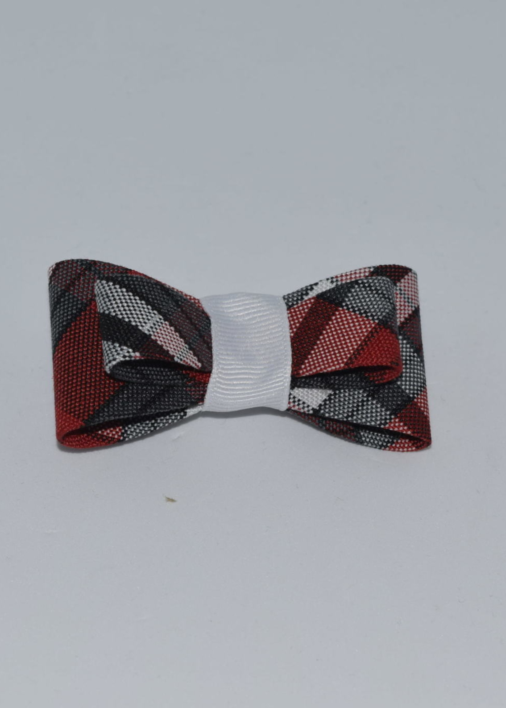Double Tailored Ponytail Bow P69 WHI