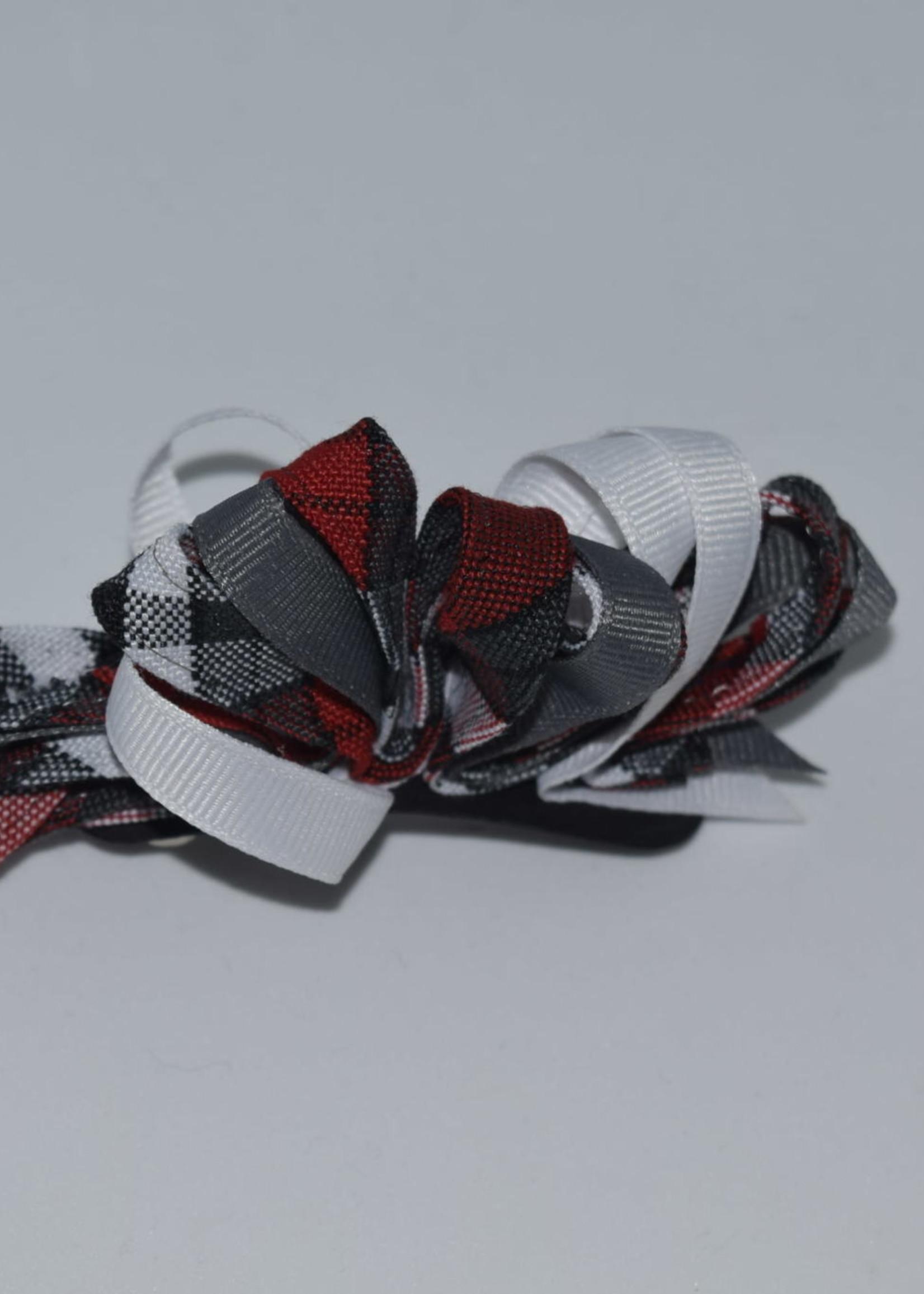 Mini Ribbon Burst Barrette P69