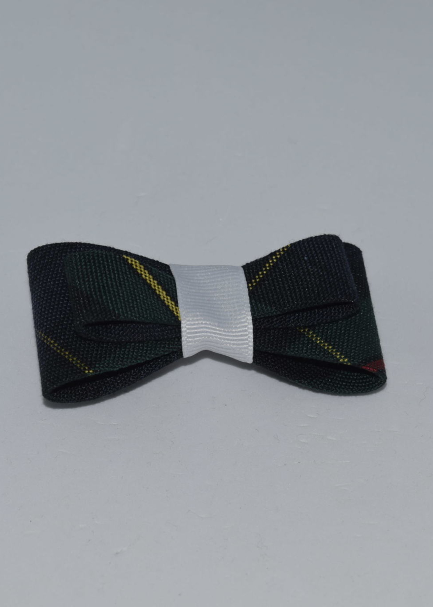 Double Tailored Ponytail Bow P83 WHI