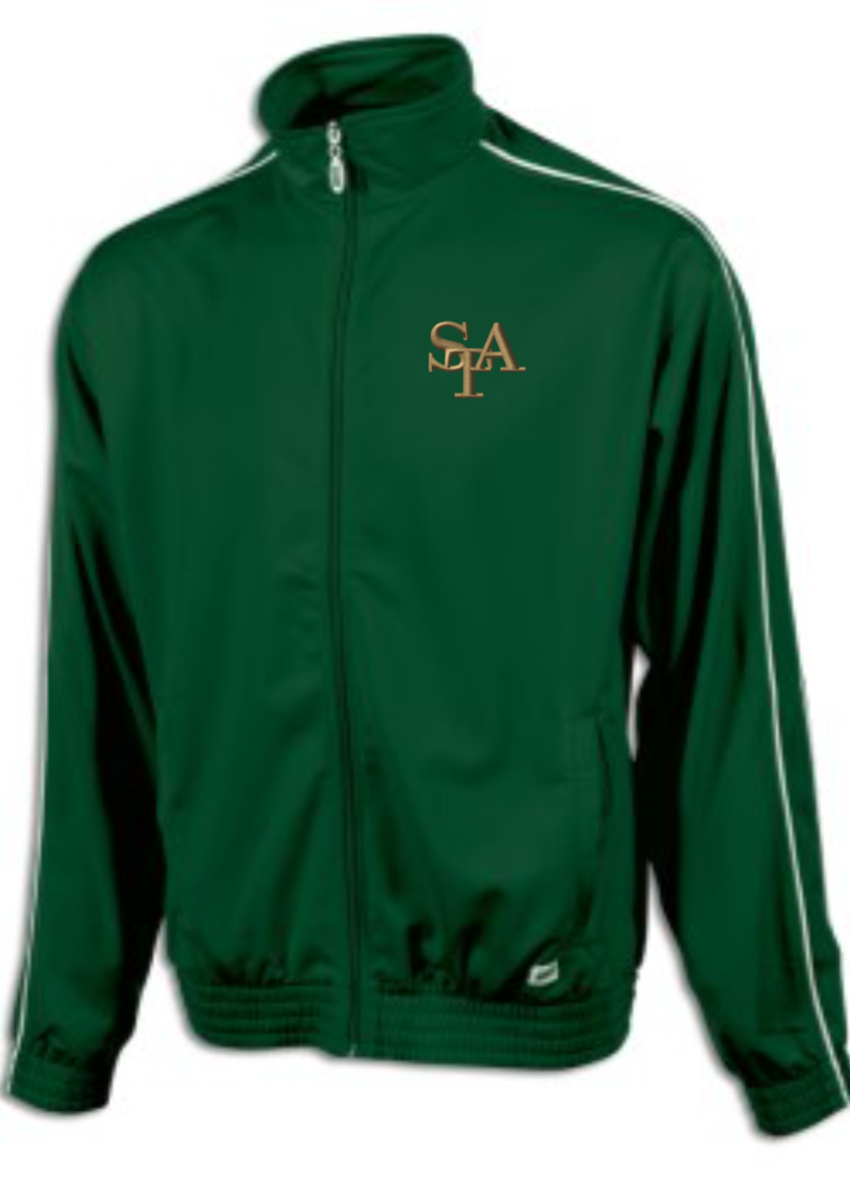 TUS STA Green Tricot Warm Up Jacket