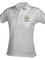 A+ CLCA G712 Ladies Lt. Blue Pique Short Sleeve Polo