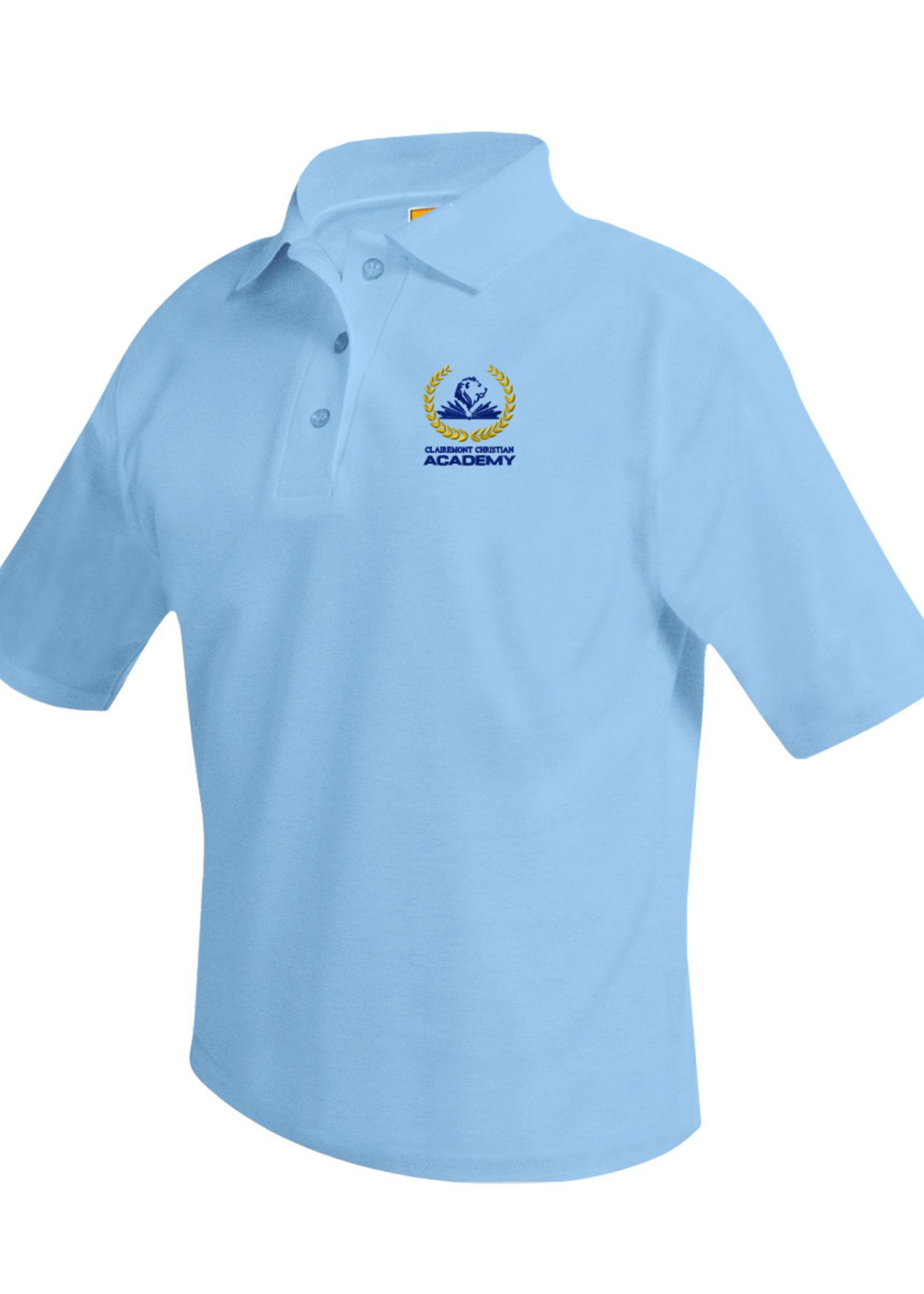 TUS CLCA GK6 Lt. Blue Short Sleeve Pique Polo