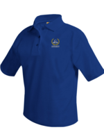 TUS CLCA BK9  Royal Short Sleeve Pique Polo