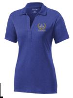 A+ ClCA Ladies Royal Short Sleeve Performance Polo