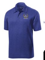 A+ ClCA Royal Short Sleeve Performance Polo