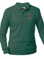 KCLA Forest Jersey Long Sleeve Polo