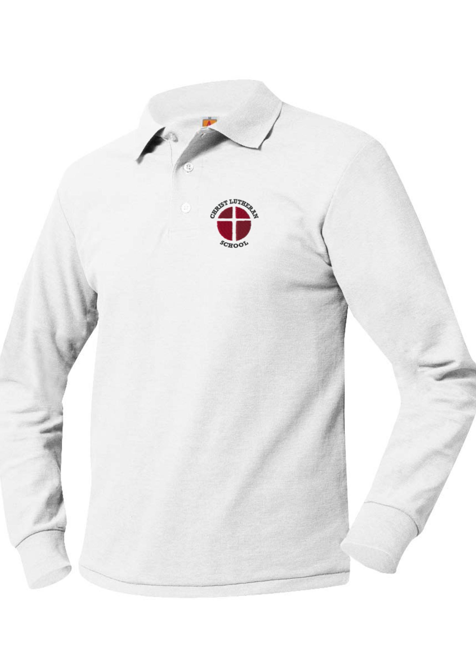TUS CLS Long Sleeve Pique Polo