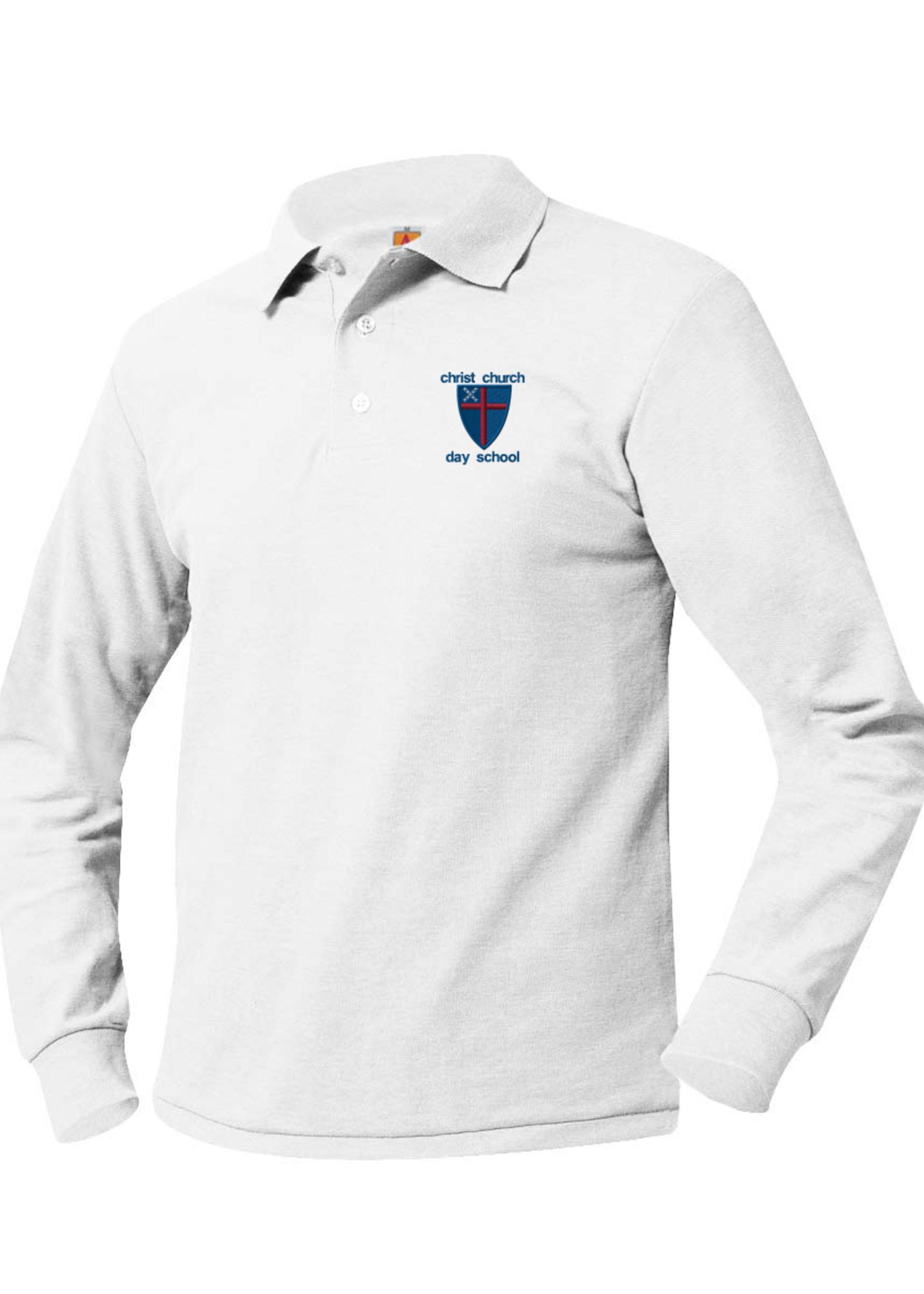 TUS CCDS Long Sleeve Pique Polo