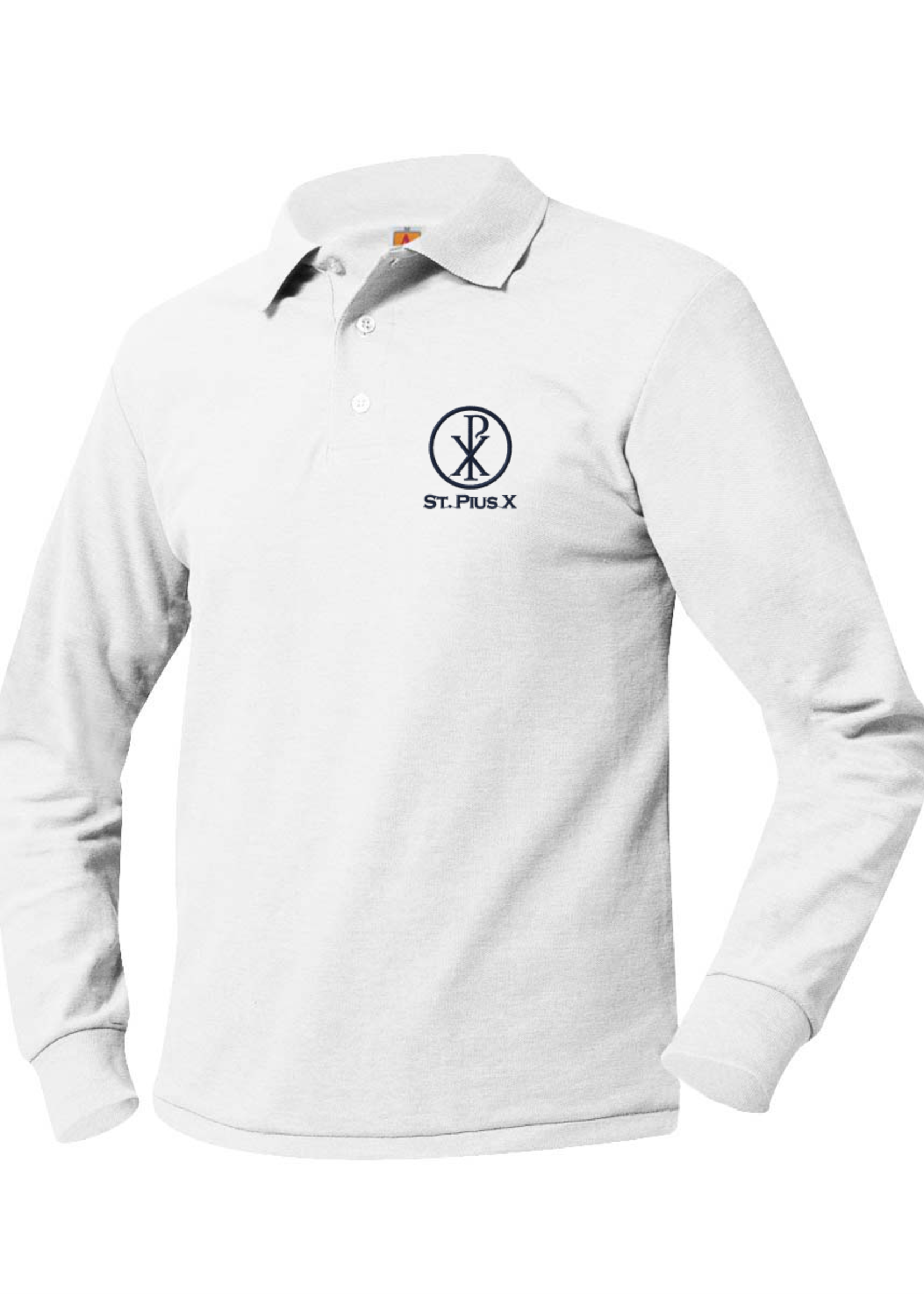 TUS SPX Long Sleeve Polo Pique 6-8