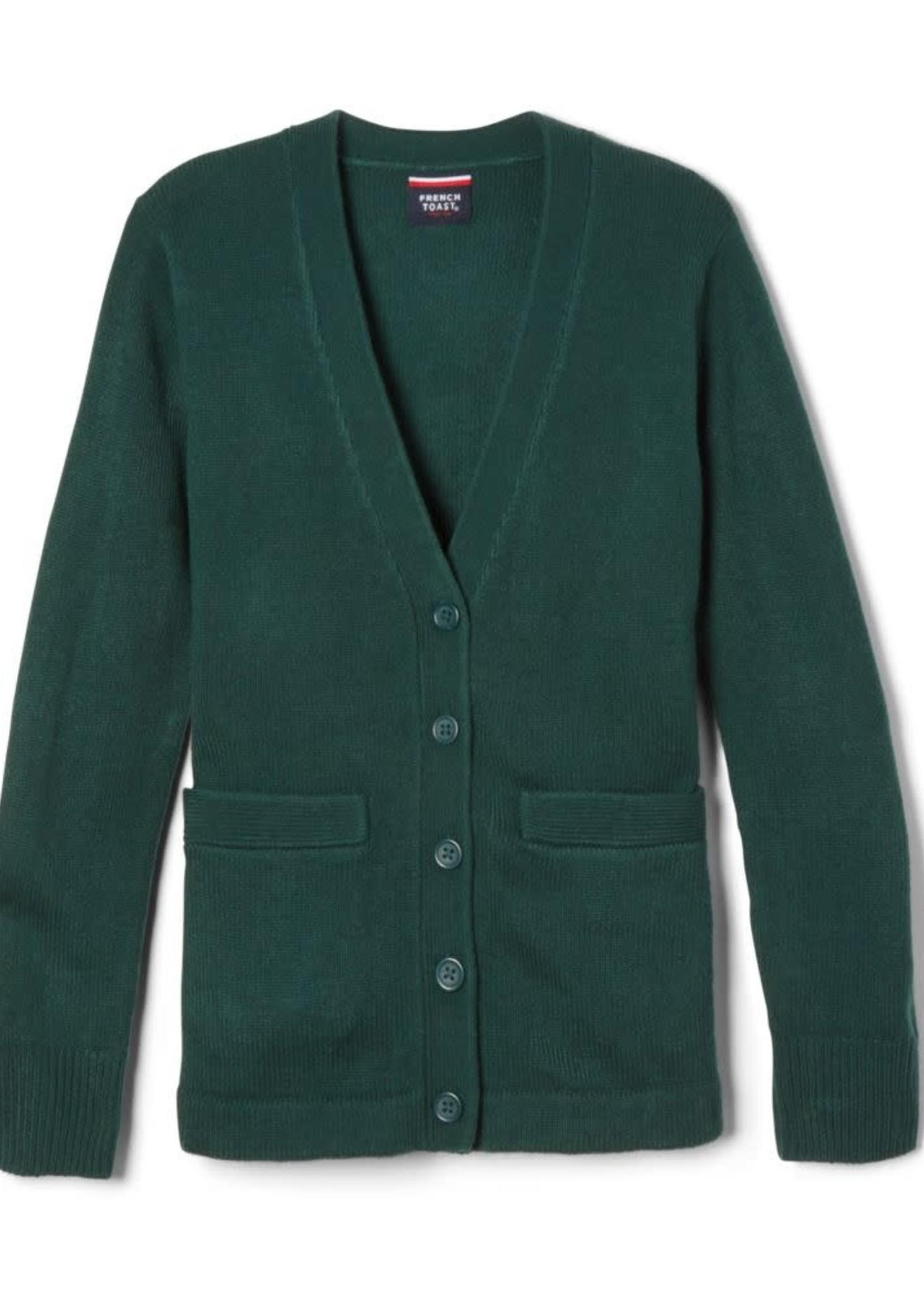 SMTA Forest Cardigan V-neck with pocket