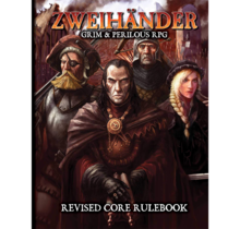 Zweihander Grim and Perilous RPG Corebook