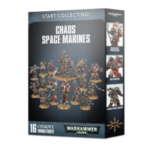 Warhammer 40k Chaos Space Marines Start Collecting!