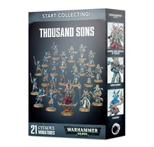 Warhammer 40k Start Collecting! Thousand Sons