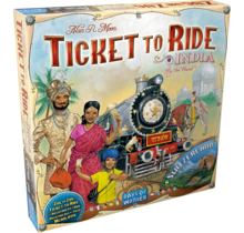 Ticket to Ride India and Switzerland Map Pack