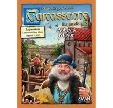 Carcassonne Expansion 5 Abbey and Mayor (2017)