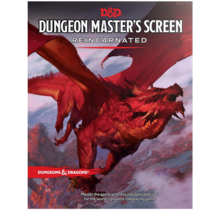 Dungeons and Dragons Dungeon Master DM Screen Reincarnated