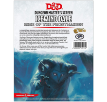 Dungeons and Dragons DM Screen Icewind Dale Rime of the Frostmaiden