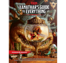 Dungeons and Dragons Xanathar's Guide to Everything (Standard Edition)