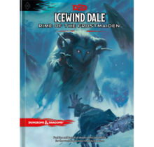 Dungeons and Dragons Icewind Dale Rime of the Frostmaiden Standard Cover