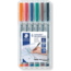 Chessex 6 Pack Wet Erase Mat Marker Set