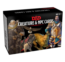 Dungeons and Dragons NPCs and Creatures Dungeons and Dragons Monster Cards