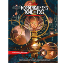 Dungeons and Dragons Mordenkainen's Tome of Foes Standard Edition
