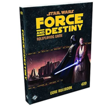 Star Wars Force and Destiny Core Rulebook HC