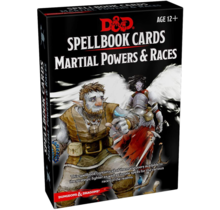 Dungeons and Dragons Spellbook Cards: Martial Powers and Races