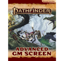 Pathfinder 2E GM Screen Advanced