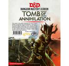 Dungeons and Dragons DM Screen Tomb of Annihilation