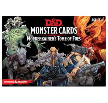 Dungeons and Dragons Mordenkainen's Tome of Foes Dungeons and Dragons Monster Cards