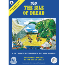 Dungeons and Dragons Original Adventures Reincarnated 2 The Isle of Dread