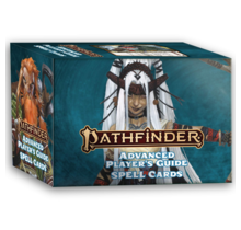 Pathfinder 2E Spell Cards Advanced Players Guide