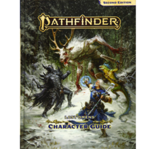 Pathfinder 2E Lost Omens Character Guide HC