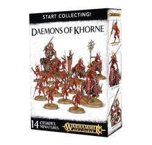 Warhammer Age of Sigmar Chaos Daemons of Khorne Start Collecting!