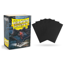 Dragon Shield 100ct Standard Matte Sleeves Black