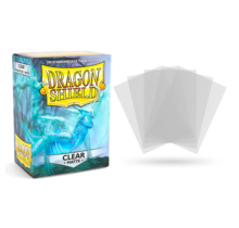 Dragon Shield 100ct Standard Matte Sleeves Clear