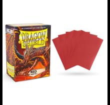 Dragon Shield 100ct Standard Matte Sleeves Red