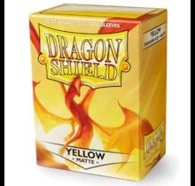 Dragon Shield 100ct Standard Matte Sleeves Yellow