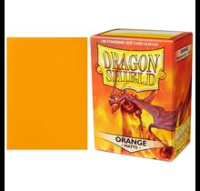 Dragon Shield 100ct Standard Matte Sleeves Orange