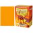 Arcane Tinmen Dragon Shield 100ct Standard Matte Sleeves Orange