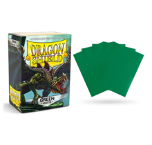 Dragon Shield 100ct Standard Matte Sleeves Green