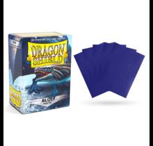 Dragon Shield 100ct Standard Matte Sleeves Blue