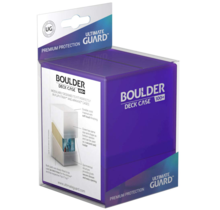 Ultimate Guard Boulder Deck Case Amethyst Purple 100+