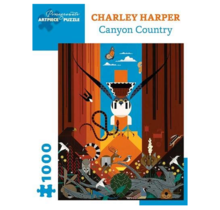 Charley Harper Canyon Country 1000 pc Jigsaw Puzzle