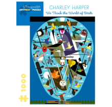 Charley Harper We Think the World of Birds 1000 pc Puzzle