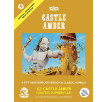 Dungeons and Dragons Original Adventures Reincarnated 5 Castle Amber